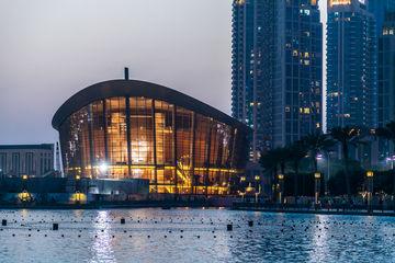 Opera House Dubai, Exterior View, outer view, Opera House,