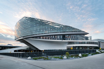 Impressive architecture with technology by GEZE