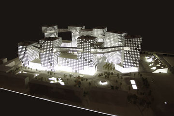 Model of Grand MOMA Peking