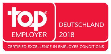 Top Arbeitgeber, Signet, Personalauszeichnung, Award, Auszeichnung, Unternehmen