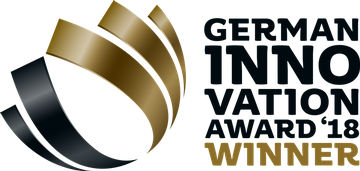 Etiqueta German Innovation Award 2018