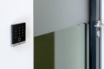 One of GEZE's access control systems. Photo: Jürgen Pollak for GEZE GmbH