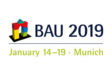 BAU 2019: Solution with added value - for buildings worth living in