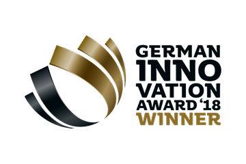 Zertifikat German Innovation Award 2018 Winner German Innovation Award 2018 Winner