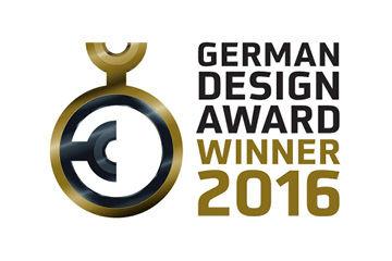 Certificate German Design Award 2016 Winner German Design Award 2016 Winner