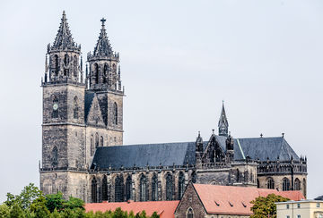 Exterior view of the Magdeburg Cathedral