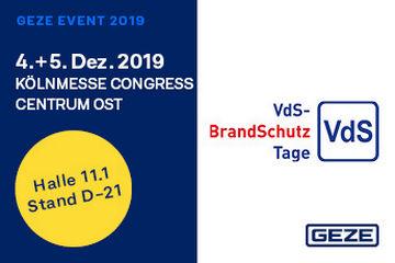 VdS Brandschutztage GEZE-Eventteaser