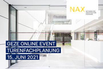 Teaser NAX Online Event Türplanung