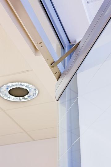 MSW verfahrbare Durchgangstüren - Ganzglas