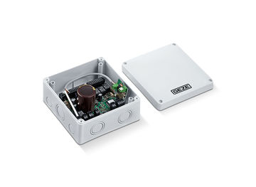 GEZE Motorschloss MST 210 Die Motorschloss Steuerung MST 210 dient zur elektrischen Ansteuerung des IQ lock EL