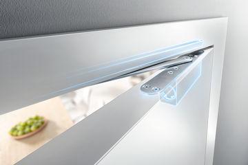 Sistema bilateral de amortecimento de abertura para portas de encosto sem requisitos antifogo ID 163411
