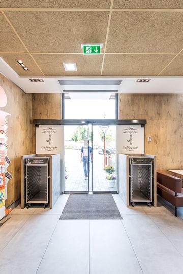 Important pour la sécurité des bâtiments: la porte multifonction
