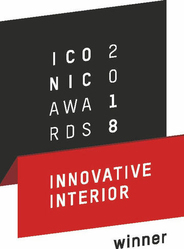 Certificate ICONIC AWARDS 2018: Innovative Interior Winner Award ICONIC AWARDS 2018: Innovative Interior Winner