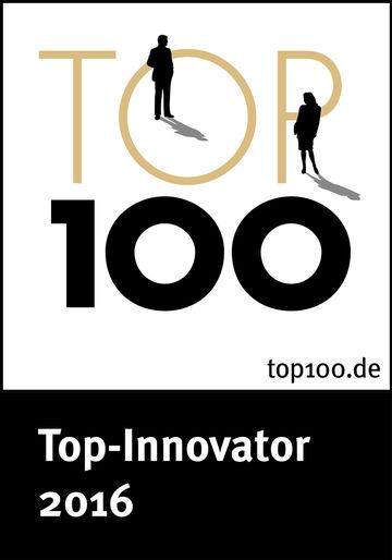 Auszeichnung, Award, Innovation, Unternehmen, TOP 100