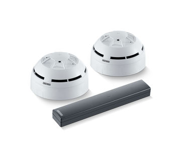 Set comprising GC 171 wireless module and GC 172 wireless ceiling-mounted smoke detector