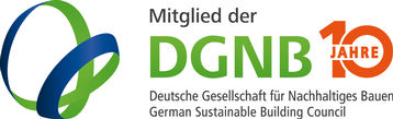 Logo for German Sustainable Building Council membership