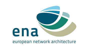 Logotipo ena (european network architecture)