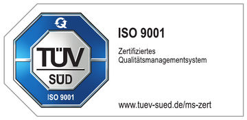 TÜV Süd certifies GEZE's award-winning quality management.