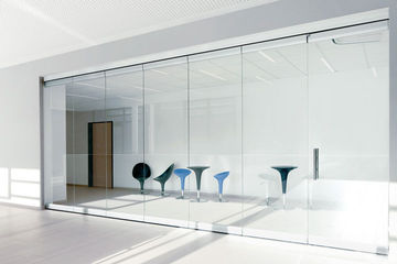 GEZE Partition wall system glass