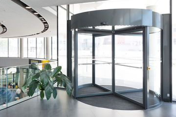 Product category image Automatic revolving door the website