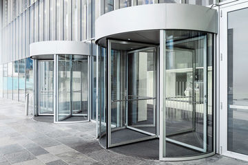 GEZE Manual revolving door