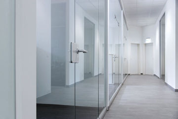 GEZE Fixed glass partition wall systems