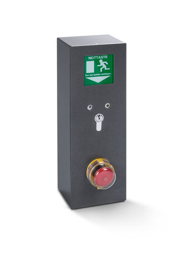 The TZ 320 door control unit, with additional housing that complies with IP rating IP 54.