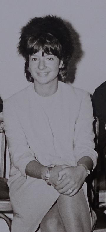 Brigitte Vöster-Alber in den 1960er Jahren, kurz vor der Übernahme der Geschäftsführung
