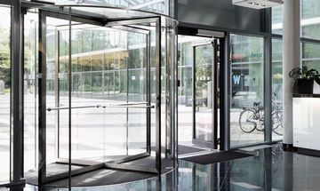 TSA 325 NT GG, Hotel Amano, Product image revolving door of website