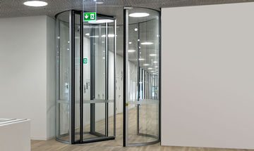 TSA 325 NT BO, Roche Tower, Product image Website revolving door