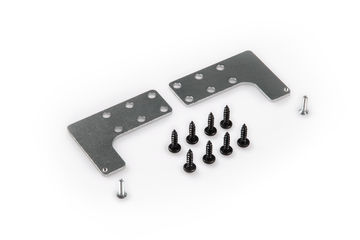 Guide rail fixing plates
