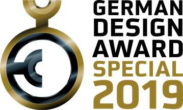 Certificate German Design Award 2019 Special Mention Award German Design Award 2019 Special Mention